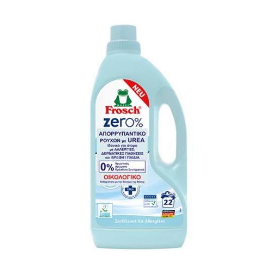 Υγρό βιολογικό απορρυπαντικό ρούχων Frosch Zero 0%,