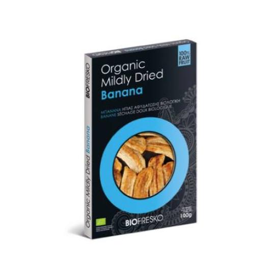 Βιολογική μπανάνα ήπιας αφυδάτωσης,100gr