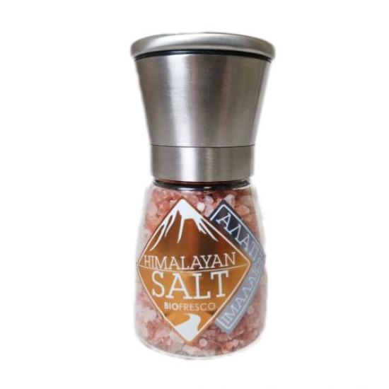 Αλάτι Ιμαλαΐων χοντρό σε μύλο, Βιοφρέσκο 200g