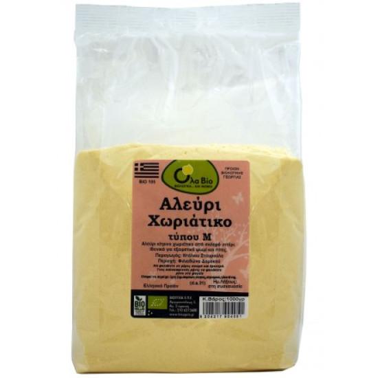 Αλεύρι Χωριάτικο (ΤΥΠΟΥ Μ) bio 1kg
