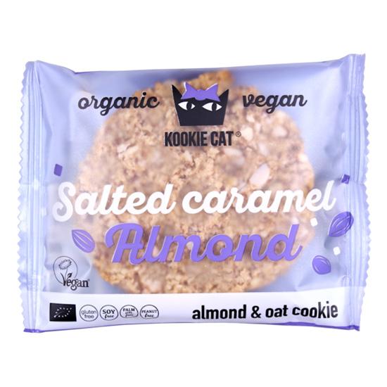 Kookie Cat' Μπισκότο Βρώμης με Καραμελωμένα Αμύγδαλα (50γρ)