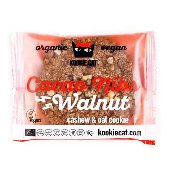 Kookie Cat' Μπισκότο Βρώμης με κομματάκια Κακάο & Καρύδια (50γρ)