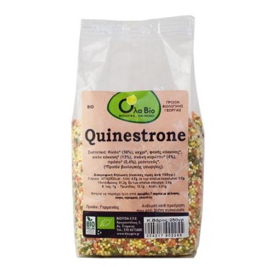Κινόα quinestrone καρότο Πράσο bio 250gr
