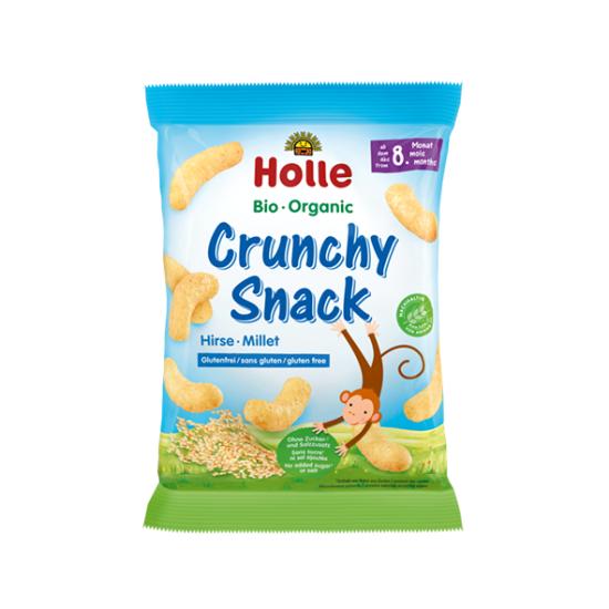 Holle σνακ δημητριακών με κεχρί από 8 μηνών