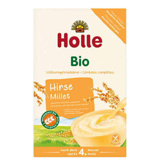 Βρεφική κρέμα από κεχρί Holle, 250gr