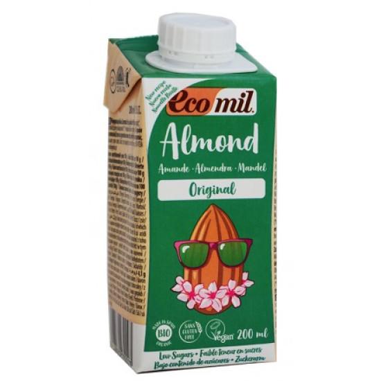 Βιολογικό γάλα αμυγδάλου με σιρόπι αγαύης 200ml