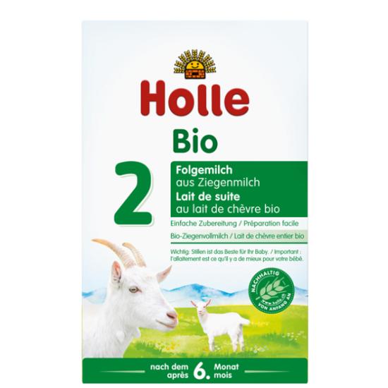 Βρεφική τροφή με βάση το κατσικίσιο γάλα Νο2 από 6 μηνών Holle