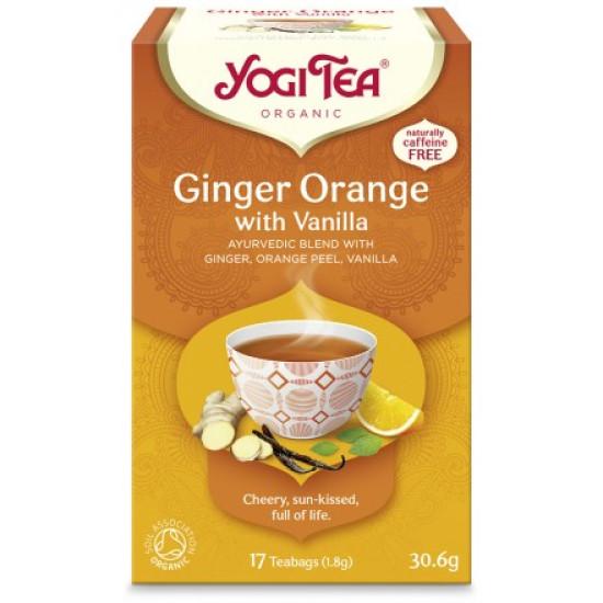 Yogi Tea Ginger Orange bio 30,6 gr