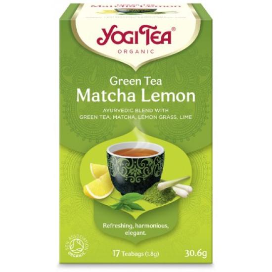 Yogi Tea Green Matcha Lemon bio 30,6gr