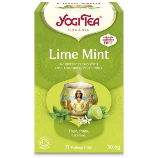 Yogi Tea Lime Mint bio 30,6 gr