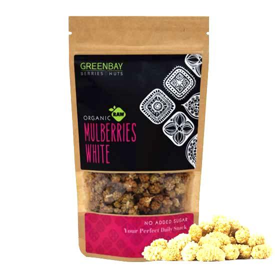 Λευκά μούρα Mulberries αποξηραμένα (125γρ)