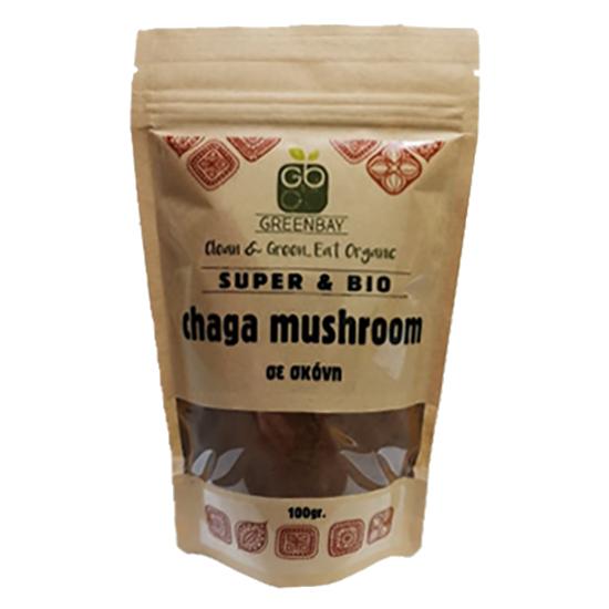 Chaga Μανιτάρι σε σκόνη (100γρ)