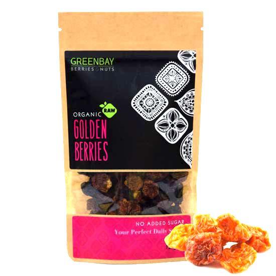 Γκόλντεν μπέρις- Φυσσαλίς (Golden berries) αποξηραμένα (125γρ)