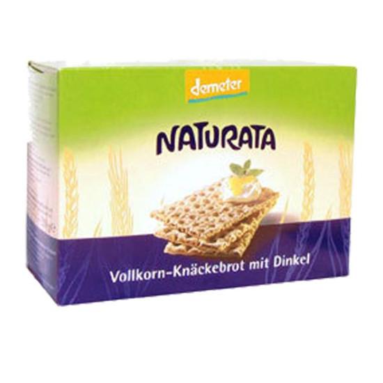 """Γαλέτα ολικής με ντίνκελ """"Naturata"""" 250gr"""