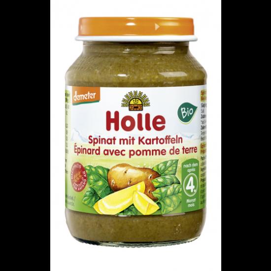 Σπανάκι & πατάτα σε βάζο 190gr