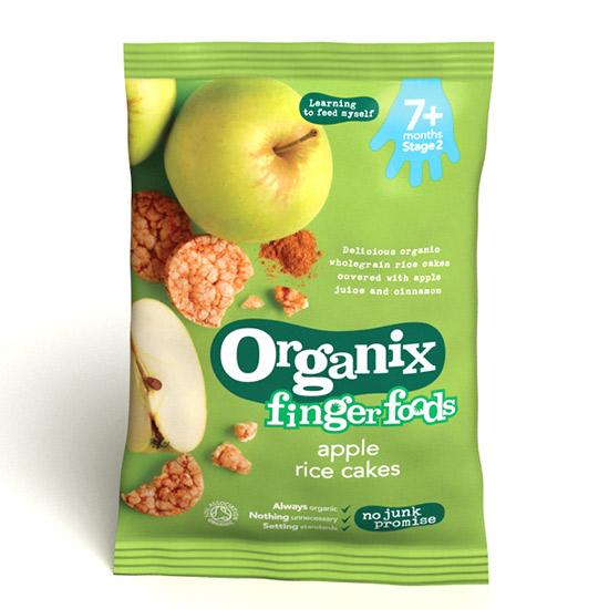 Ρυζογκοφρέτα Μήλο +7μ (50γρ)